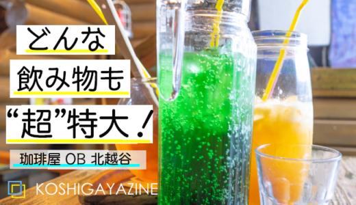 """珈琲屋OBの金魚鉢アイスティー!""""デカ盛り""""は埼玉のローカルフード?"""