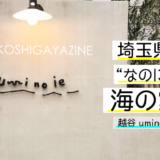 """埼玉県にある""""海の家""""。本当は教えたくない越谷の隠れ家カフェ「uminoie」"""